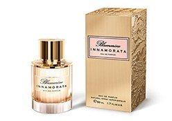 Flakon und Karton des Innamorata Parfums von Blumarine