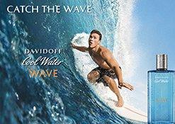 Das Sujet zu Davidoff Cool Water Wave