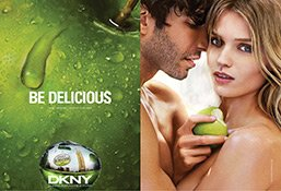 DKNY Be Delicious Printkampagne