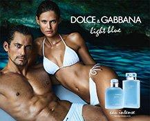 Werbekampagne zu den neuen Dolce & Gabbana Light Blue Intense Düften