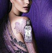 Das Paisley Parfum liegt wie ein Tattoo auf der Haut