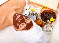Schlamm Gesichtsmaske