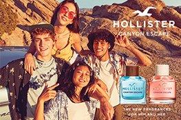Hollister Wave Flakons