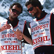 Kiehl's sponsert Everest Expedition