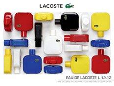 Auswahl der Lacoste Eau de Lacoste Parfums für Herren