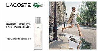 Lacoste Pour Femme Légère Werbekampagne