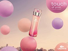 Das Visual zu Lacoste Touch of Pink