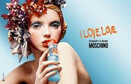 Visual zum I Love Love Parfum von Moschino