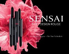SENSAI COLOURS SILKY DESIGN ROUGE