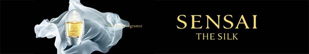 Werbebanner von Sensai The Silk