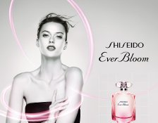 Tess Hellfeuer für Shiseido Ever Bloom