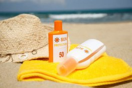 Sonnenschutz Körperpflege