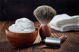 Utensilien zum rasieren