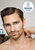 Weleda Men After Shave Balsam pflegt beanspruchte Männerhaut optimal.