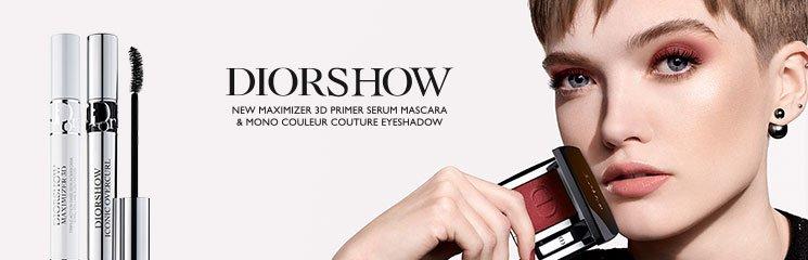 Frau und Dior Diorshow Produkte