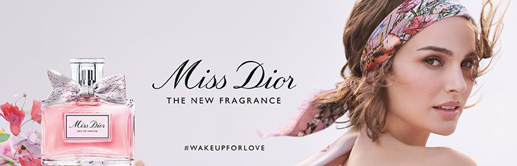 Dior Miss Dior Eau de Parfum Flakon und Frau