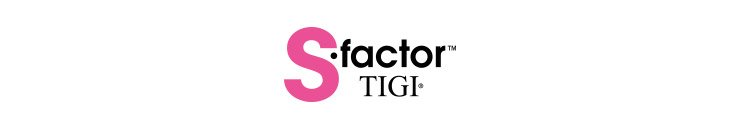 S-Factor by TIGI Markenbanner