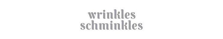 Wrinkles Schminkles Markenbanner