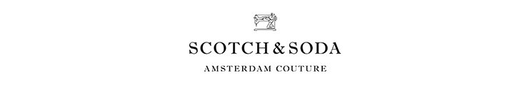 SCOTCH & SODA Markenbanner