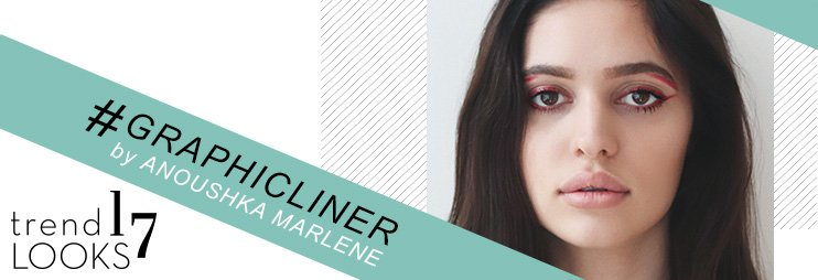 Graphic Eyeliner Banner