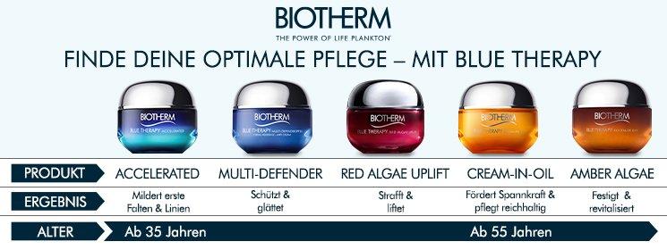 Biotherm Blue Therapy Produkte und Info