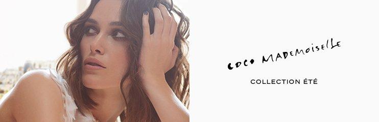 Frau und Schrift Coco Mademoiselle
