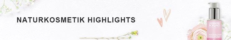 Naturkosmetik Highlights Damen - Jetzt entdecken