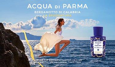 Frau und Acqua di Parma La Spugnatura Flakon
