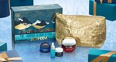 Produkte von Biotherm vor Geschenkset