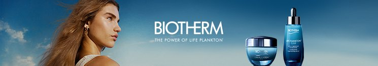 Frau und Biotherm Life Plankton™ Produkte