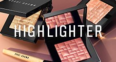 Packungen Bobbi Brown Highlighter und Text