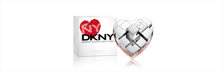 DKNY MYNY Flakon und Verpackung