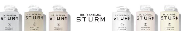 Logo DR. BARBARA STURM und Produkte