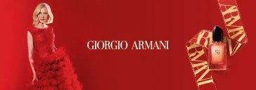 Flakon von Giorgio Armani Si und Frau X-Mas Look