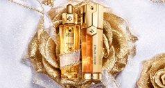 Goldene Rose mit Abeille Royale Produkten