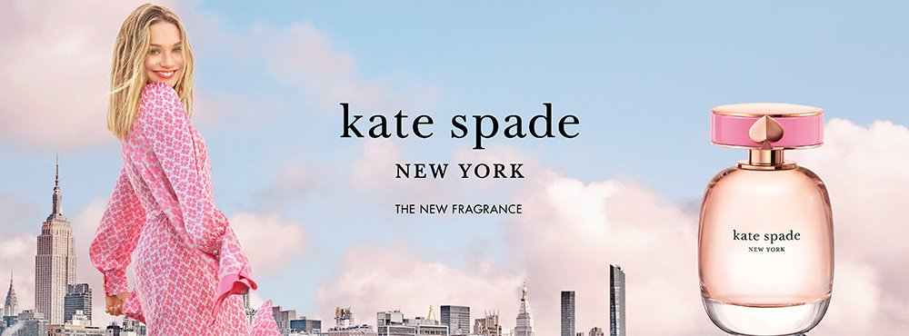Kate Spade Flakon und Frau