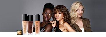 Lancôme Make-up Produkte und Frauen