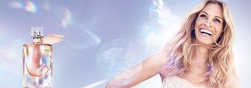 Julia Roberts und La vie est belle Soleil Cristal Flakon