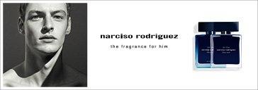 Mann und Flakon von Narciso Rodriguez for him