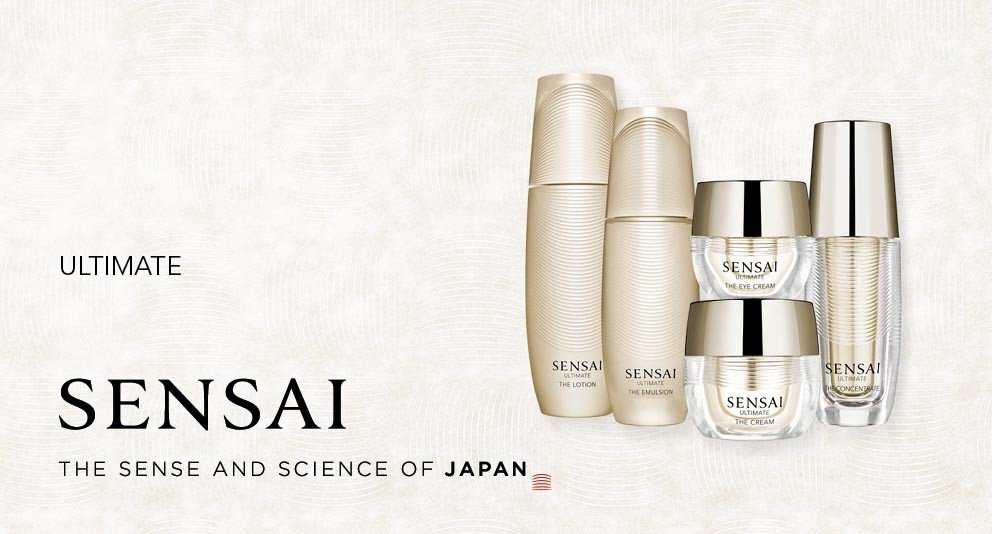 Luxus Anti-Aging Produkte von Sensai