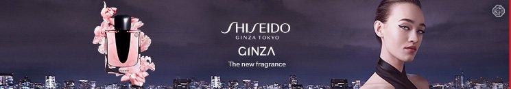 Frau und Shiseido Ginza Flakon