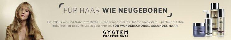 System Professional EnergyCode Markenbanner mit Produkten und Infotext