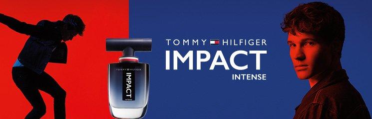 Tommy Hilfiger Impact Intense Flakon und Mann