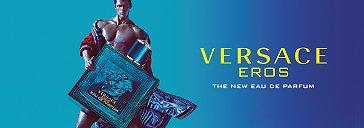 Mann und Versace Eros Parfum Flakon