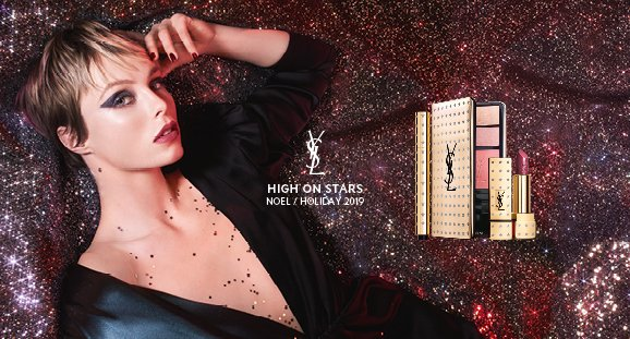 Yves Saint Laurent Holiday Look