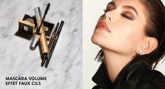 Augen Make-up Produkte von Yves Saint Laurent und Frau