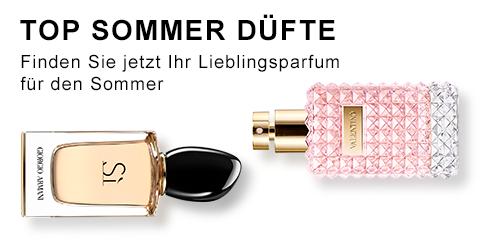 Top Ten Sommer Düfte - Jetzt entdecken!