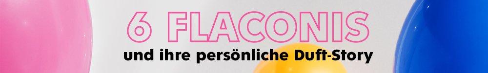 6 flaconis und ihre persönliche Duft-Story