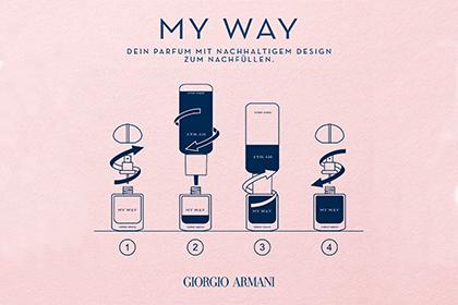 Giorgio Armani My way refill
